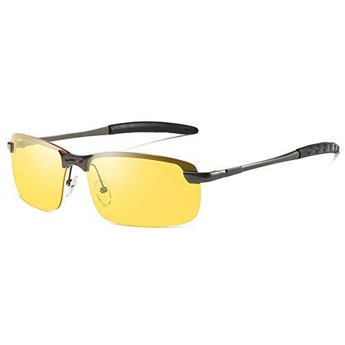 ZHRUIY Herren und Damen Sonnenbrillen TR-007 Hohe QualitäT Metall Rahmen 100% UV Schutz 20g Treibende Polarisierte Sonnenbrille Sport Freizeit Camping Outdoor Schutzbrillen 2 Farben