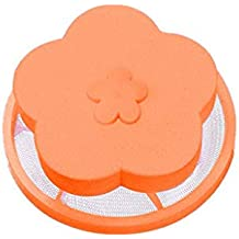 Mymyguoe 2X Bola de lavandería Bolsa de Filtro de Flotador Universal Lavadora Dispositivos de Limpieza de