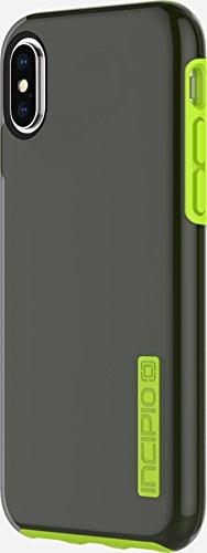 Incipio STOWAWAY Coque de Protection avec Rangement pour Cartes et Billets pour l'iPhone 6/6s - Noir Gris Fumé/Jaune Citron