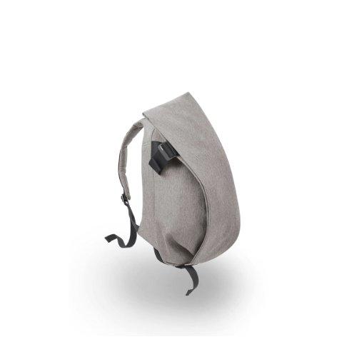 Preisvergleich Produktbild Cote&Ciel Rucksack 13 Zoll Laptops, Eco Yarn, Grau Melange