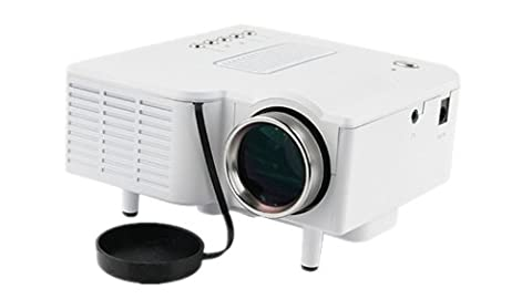 Mini Home HD LED Projector with Remote Control- 320x240, 48 Lumens, 300:1, VG...