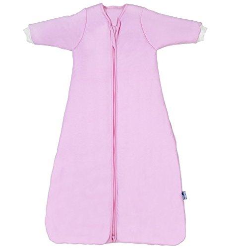 Schlummersack Babyschlafsack Winter langärmelig - Pink -0-3 Monate / 56 cm