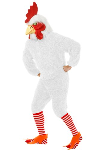 Plus Size White Rooster Fancy dress costume 3X
