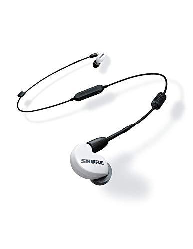 Shure SE215SPE-W-BT1-EFS Bluetooth In-Ear Kopfhörer mit passiver Geräuschunterdrückung für iOS & Android - Premium Ohrhörer mit warmem & detailreichem Klang - Special Edition: Weiß - 4