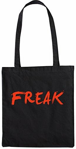 Freak Mister Tasche Merchandise Farbe Schwarz Schwarz Stofftasche OFzEPx7