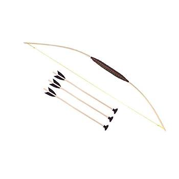 Wooden Bow 47 3 Arrows...