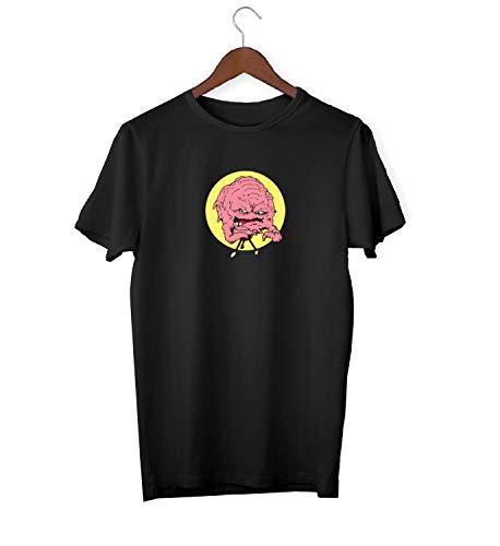 Krangs Teenage Mutant Ninja Turtles Angry Brain_KK016203 Shirt T-Shirt Tshirt for Men Für Männer Herren Gift for Him Present Birthday Christmas - Men's - XL - White