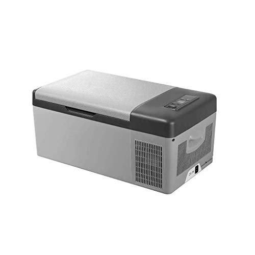 12v Ac Kompressor-kühlschrank (ZY Car refrigerator 15 Liter tragbarer Kompressor-Kühlschrank, Gefrierfach-Kühler/Auto-Kühlschrank-12V / 24V DC / 220V AC für LKW/Reise (Größe: 57x32x26cm / 22.4 * 12.6 * 10.2 Zoll))
