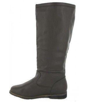 Chaussure Bas Prix - Bottes femme grises - J507-2 Gris