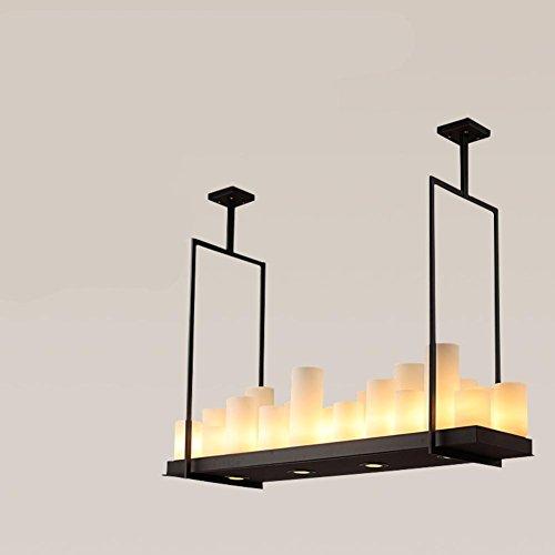 American Vintage industrielle Kronleuchter/Wohnzimmer Esszimmer Kerze Lampe/Nordic Kronleuchter...
