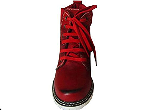 Spieth & Wensky  Uschi rot, Chaussures bateau pour femme Rouge Rouge Rouge - Rouge