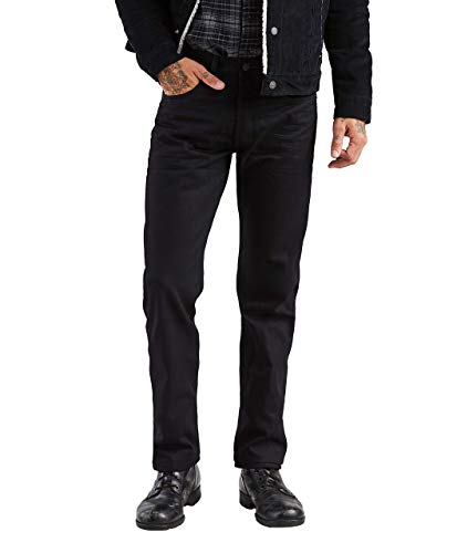 Levi's 501 Original Fit Herren Jeans Gr. 36W x 30L, Polished Black (36x30 501 Levi)