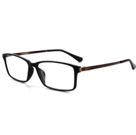 Bluelover Shuaidi ® Anti Blue Anti-Ermüdungs-Lesebrillen Harz Legierung Full Frame Presbyopisch Glass 109-1,0 - Gold