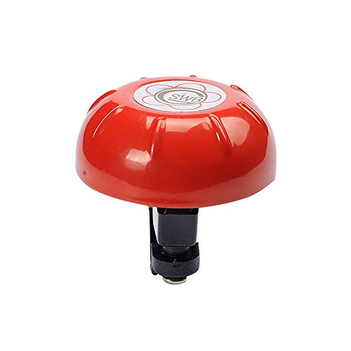 MA87 Fahrradklingel Ring Farbe Rotary Bell (Rot) -