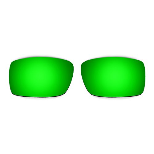 HKUCO Mens Replacement Lenses For Oakley Gascan Sunglasses Emerald Green Polarized