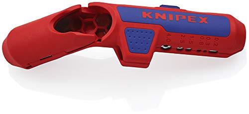 Knipex 16 95 02 SB ErgoStrip Universal-Abmantelungswerkzeug für Linkshänder 135 mm