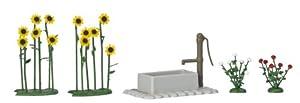 Busch - Material para Suelo de modelismo Escala 1:24 (5x12x3 cm)