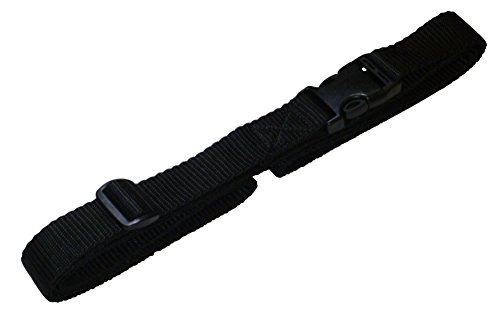 benristraps-25mm-strap-with-quick-release-buckle-and-length-adjuster-2-metres-black