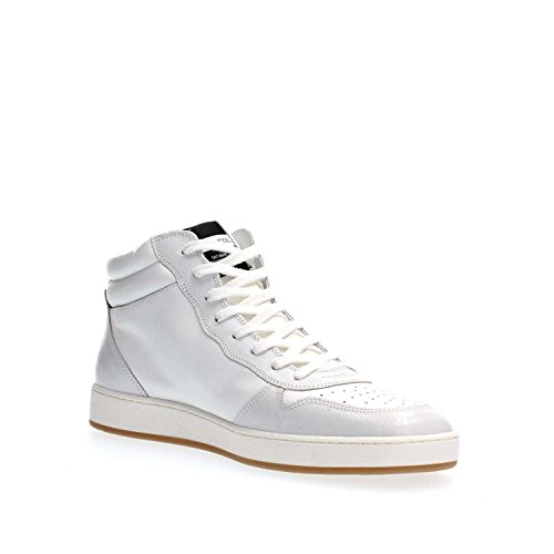PHILIPPE MODEL PARIS LKHU WX18 LAKERS HI WHITE SNEAKERS Homme white