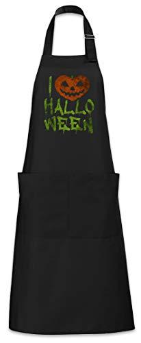 Urban Backwoods I Love Halloween Grillschürze Kochschürze