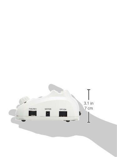 Feinschleifer – Profifräser mit Fußpedal in weiss - 3