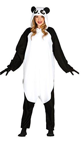 Guirca Disfraz Adulta Pijama Oso Panda, Talla 38-40 (88091.0)