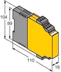 Turck Analogsignaltrenner IM31-22-I zweikanalig Trennverstärker 4047101116939