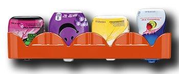Wasser Geschmack Enhancer Drops tray-water Geschmack holder-refrigerator von hält mehrere flavors- einfach installieren und drücken sie. Orange -