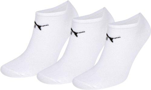Puma Sneaker Invisible Sneaker Boot Socks (Pack of 3)