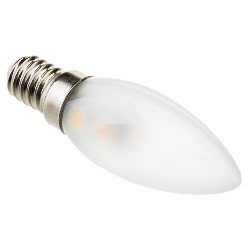 1W E14 LED Kerzen-Glühbirnen C35 7 SMD 5050 70 Warmes/Kühles Weiß Dekorativ AC 220-240V (Warmes Weiß)