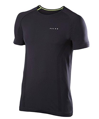 FALKE Herren Unterwäsche Warm Shortsleeve Shirt Comfort, Black, L