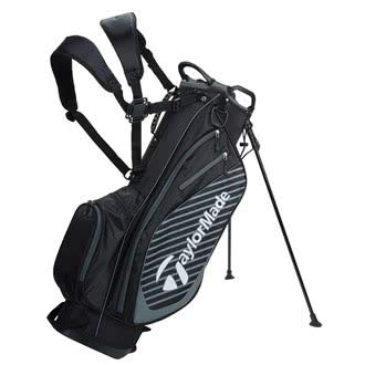 TaylorMade Golf 2018 Pro Stand 6.0 Stand Bag Mens Carry Bag 6 Way Divider Black/Charcoal