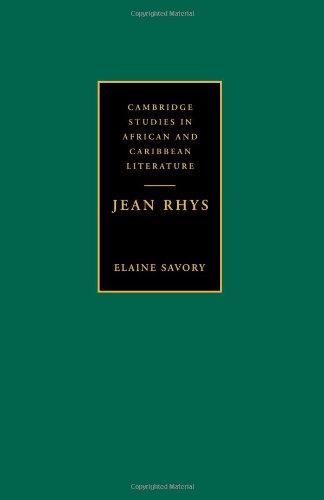 Jean Rhys (Cambridge Studies in African and Caribbean Literature)