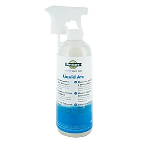PetSafe Geruchs und Fleckenentferner, Liquid Ate enzymatisches Reinigungsmittel gegen von Haustieren verursachte Flecken und Gerüche, 475ml, biologisch abbaubar, umweltfreundlich