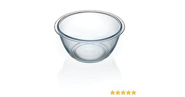 Schale Salatschüssel Salatschale aus Glas Pyrex Expert 4,2 L