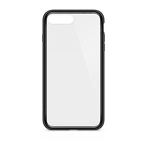 Belkin SheerForce Elite Schutzhülle (Polycarbonat, Sturzsicherheit, Anschlüsse frei zugänglich, geeignet für iPhone 8Plus/7Plus) schwarz