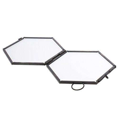 Bilder Wand-Dekorationsständer-kreatives Eisen-Hexagon-Gitter-Regal-Kombinations-Regal
