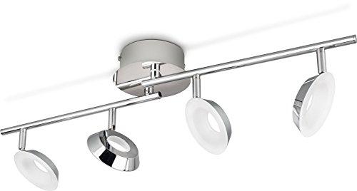 Philips Mackinaw - Lámpara de techo, foco LED para techo y pared...