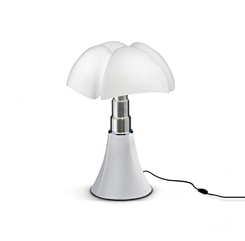 Martinelli Luce 620/J/BI Pipistrello Lampe de Table Mini LED 9 W Blanc