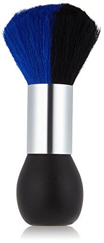 Efalock Professional Nackenpinsel, 19 cm, blau/ schwarz, 1er Pack, (1x 1 Stück)