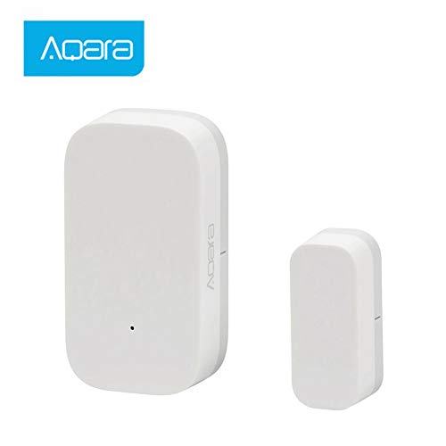 Aqara Door Window Sensor, Hangrui Intelligente Porta Finestra Sensore ZigBee Versione Controllo Smart Home Kit, Facile installazione Lavora con Mijia e Apple HomeKit APP