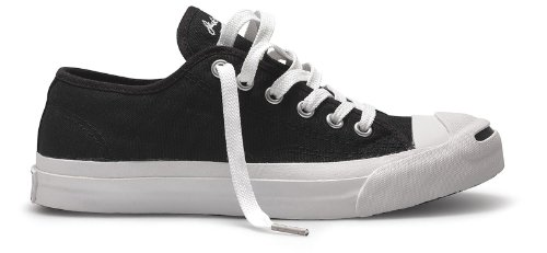 Converse Jack Purcell Canvas Ox Navy/White noir/blanc