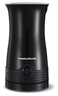 Morphy Richards 210002 Accents Hot and Cold Milk Frother, 0.5 Litre, 500 W, Black