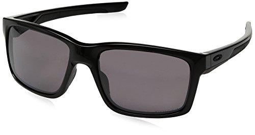 Oakley Herren Sonnenbrille Mainlink Schwarz (Polished Black/Prizmdailypolar), 57