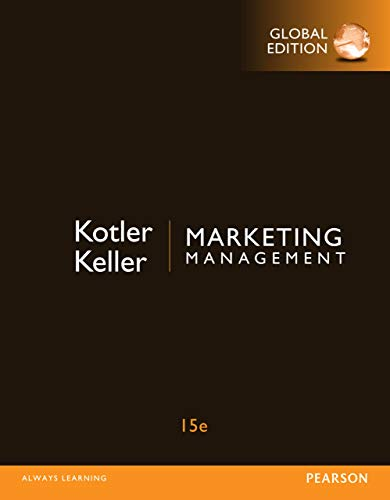 Marketing Management, Global Edition (English Edition)