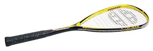 Unsquashable Squash Schläger Y TEC 8005 C4, Schwarz/Gelb, One Size, 296166