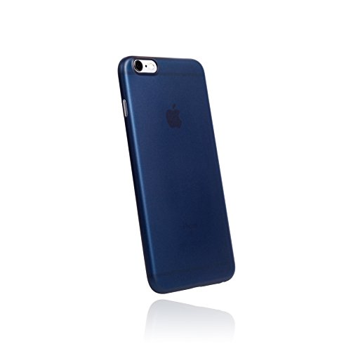 hardwrk ultra-slim Case für iPhone 6 6s Plus - solid black - ultradünne Hülle für Apple iPhone in schwarz deep sea blue