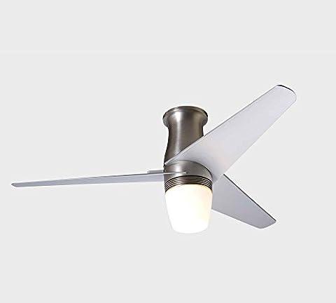 Modern Fan–Deckenventilator Velo Hugger mit Licht Durchmesser 127cm und mit