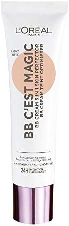 L'Oréal Paris BB Cream C'est Magic, BB Cream Idratante e Uniformante, Colore