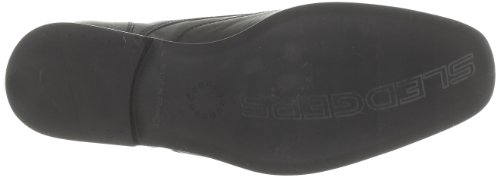 Sledgers Noir 01 Herren Schnürhalbschuhe Schwarz Xylose 818R4
